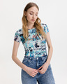 Guess Magazine Print T-shirt